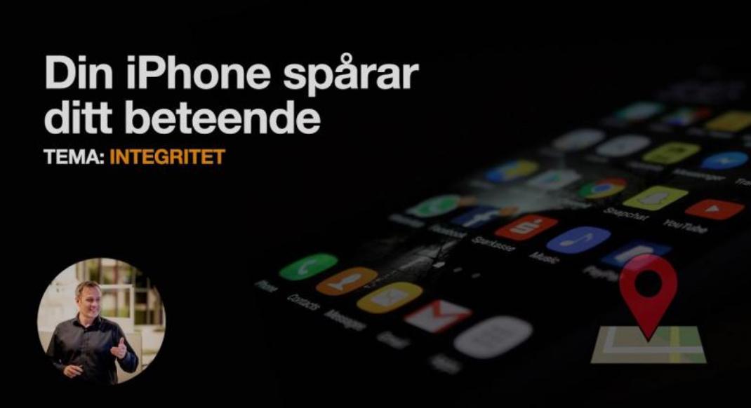 Läs mer om artikeln Din iPhone spårar ditt beteende